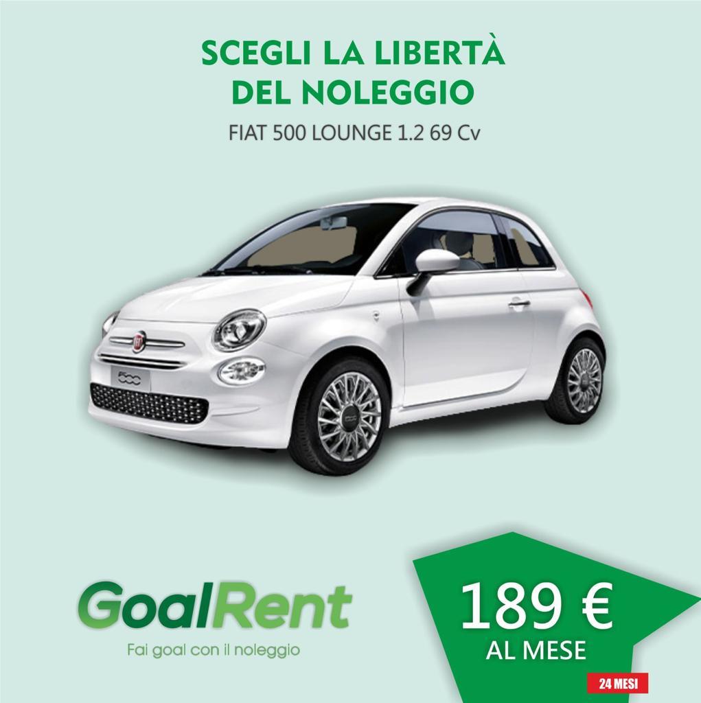 FIAT 500 LOUNGE 1.2 69 CV