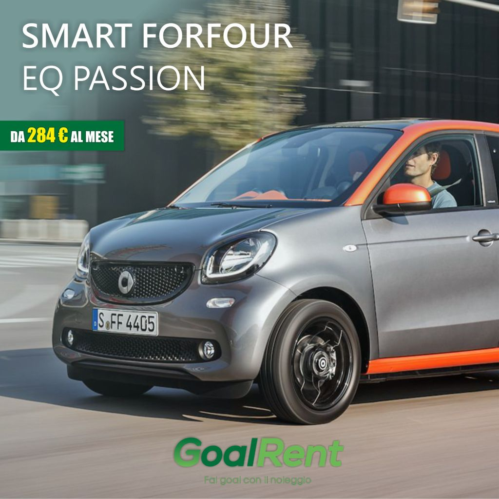 SMART FOR FOUR EQ PASSION