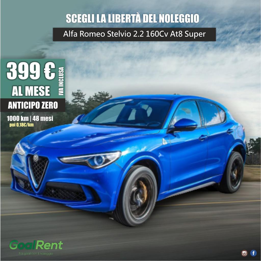 ALFA ROMEO STELVIO 2.2 160 CV AT8 SUPER